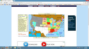Magnetic Map Of Usa by Sheppard Software States Level 1 Youtube