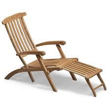 Patio Furniture Chairs Steamer Deck Chair Teak Skagerak Horne