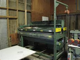 Woodworking Machine Auctions California by West Auctions Auction Woodworking Company In Newcastle Ca Item