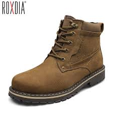 s boots 50 aliexpress com buy roxdia fashion genuine leather ankle