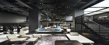 DDC Minotti Luxury Contemporary Lighting Showroom In NYC - Contemporary furniture nyc