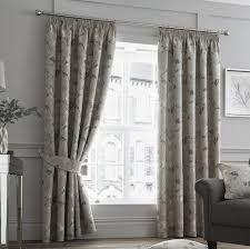 Black And Gold Damask Curtains by Pencil Pleat Curtains
