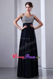 navy blue beading for prom dress with straps