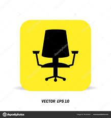 telecharger icone bureau icône de chaise de bureau image vectorielle ibrandify 161315424