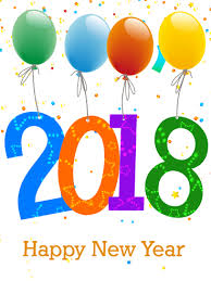 new years card happy new year 2018 png transparent happy new year 2018 png images