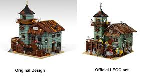 the lego 21310 old fishing store combines rustic charm with