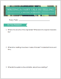 how to write a fairy tale retelling ink and quills