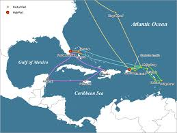 selected cruise itineraries caribbean