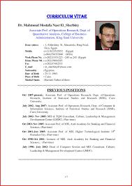 Resume For Mba Finance Fresher Curriculum Vitae European Format Doc Eliolera Com