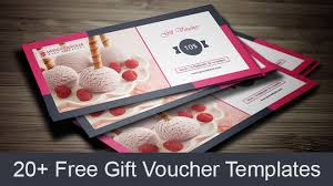 22 best free gift voucher templates in psd