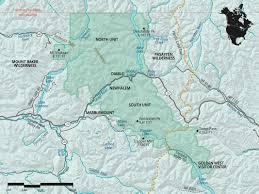 Desolation Sound Map North Cascades National Park Washington