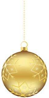 large transparent gold ornament png clipart
