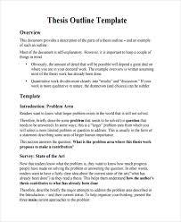 34 best outline examples free u0026 premium templates