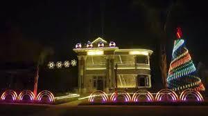 wars christmas decorations the is with this san antonio wars christmas lights display