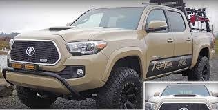 2017 tacoma light bar revtek new 2016 tacoma lightbar taw all access