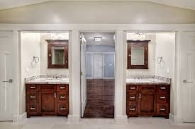 Bath Vanities Chicago Split Double Vanity Bathroom Griffin Custom Cabinets