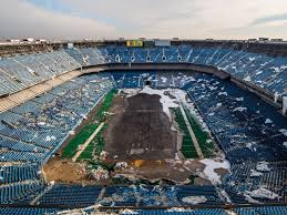 the remnants of the pontiac silverdome formerly home to the