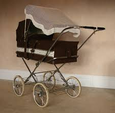 Baby Stroller Canopy by Vintage Marmet Pram Collapsible Sun Canopy Coachbuilt Carriage