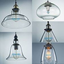 Replacement Glass Shades For Pendant Lights Great Clear Glass Shades For Pendant Lights 22 On Industrial