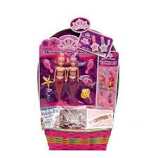 mermaid easter basket wondertreats mermaid easter basket with candy walmart