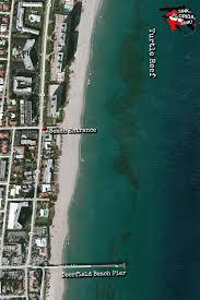 Boca Raton Florida Map by Turtle Reef Boca Raton Deerfield Beach Beach Dive Site