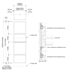 Window Sill Detail Cad Wood Installation Systems Pella Professional