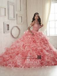 quinceanera dresses coral aliexpress buy coral two quinceanera dresses 2017