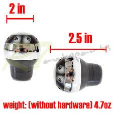 for chevy chrysler m12 m8 m10 insert usa luxury chrome black
