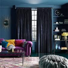 Premium Curtains Velvet Royal Blue Curtains