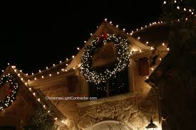 large lighted wreaths outdoor lights large