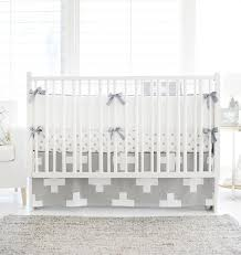 White Nursery Bedding Sets Sutton Gray Crib Bedding Set Rosenberryrooms