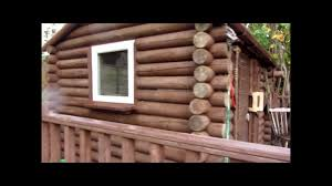 how to build a log cabin on a budget youtube