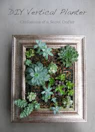 How To Make A Succulent Planter by Vertical Succulent Planter Confessions Of A Secret Crafter