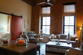 jersey city warehouse is reborn as rentals at 350 warren street a living room in a one bedroom at modera lofts