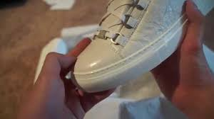 magichalcyon ep 2 authentic balenciaga arena shoes review on