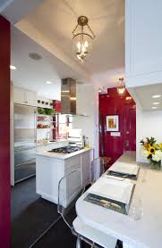 58 best american kitchens contemporary transitional traditonal another white on white kitchen with bold red accents
