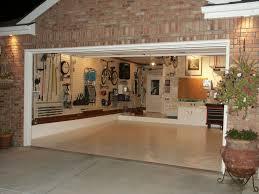 best fancy garage inside image of patio plans free title