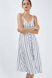 sun dress striped sundress topshop