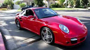 porsche carrera red 8 100 mile 2009 porsche 911 turbo coupe guards red black contrast