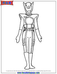 kat ranger coloring u0026 coloring pages