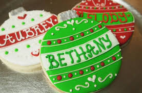 foodista personalized ornament cookies