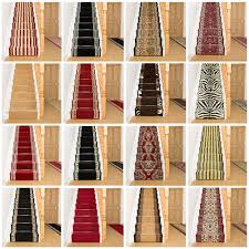 Silver Stair Rods by Stair Carpets Rugs U0026 Carpets Ebay