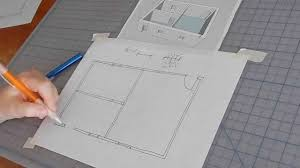 How To Get Floor Plans For My House How To Sketch A Floor Plan Youtube