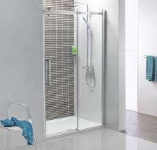 interior handsome grey small bathroom shower stall decoration