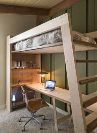 Diy Loft Bed With Desk by Custom Loft Bed Studio Build Bunks Pinterest Lofts Studio