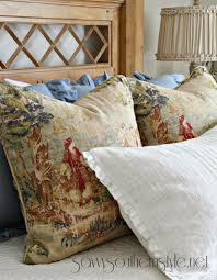 French Country Cushions Savvy Southern Style Creating French Country Style With Fabrics