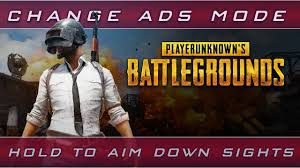 pubg hold to aim hold to aim down sights in pubg easiest way youtube