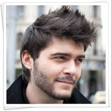 medium straight hairstyle for men straight hair hairstyles for men
