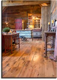 antique oak flooring with worn edge for a unique aged appearance