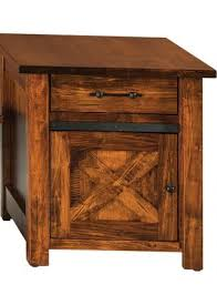 barn door side table nolan barn door side table countryside amish furniture